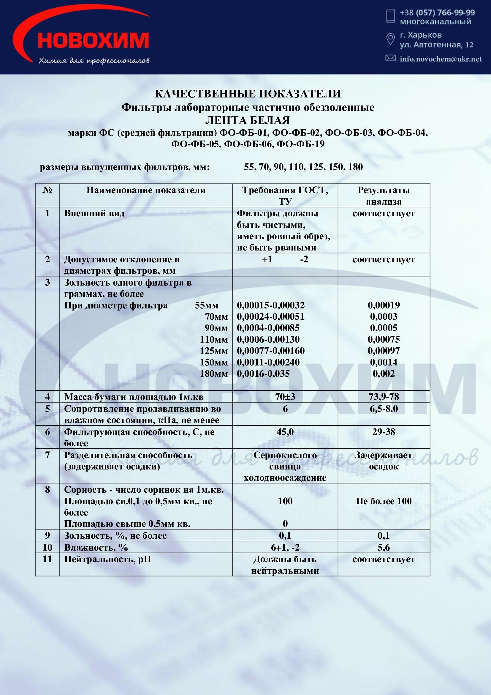 Фото сертификата фильтр белая лента